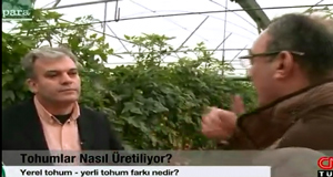 Seeding and seedling production sector on CNN Türk