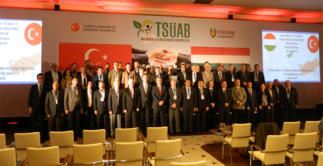 President of TÜRKTOB and TSÜAB Gençer; ''We could reach our seed trade with Hungary from 8 million dollars to 50 million dollars'
